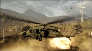 Heavy Metal comporte des hélicoptères d'attaque et de transport.